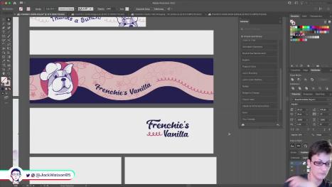 Frenchie's Vanilla Branding Part 7