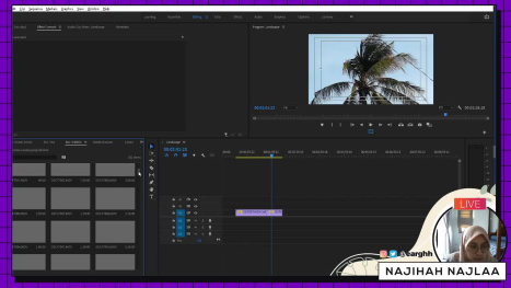Edit Video of Senok Beach in Adobe Premiere Pro