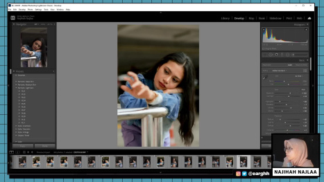 Edit Photos in Lightroom Classic (Roller Blade Outing)