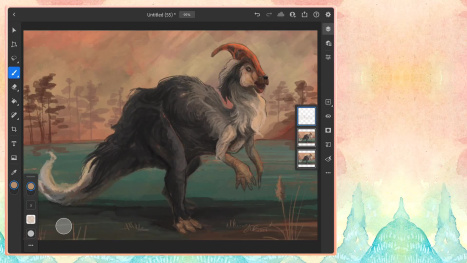 ~ Wednesday morning animal/dinosaur fusion ~ Happy Birthday Hem Hem! ~