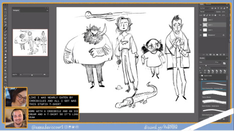 Character Design with Anna Daviscourt and Anthony Simms