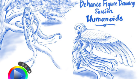 Figure Drawing Session - Humanoids