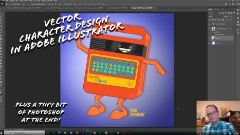 Character Design: Retro Character - Adobe Illustrator