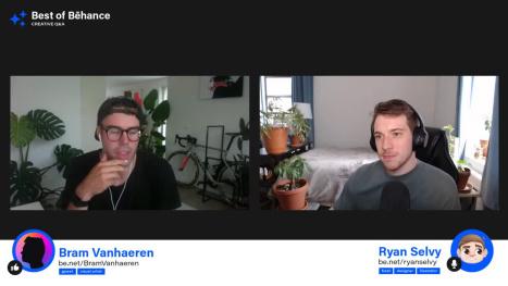 ⭐️ Best of Behance: Creative Q&A ⭐️ with Bram Vanhaeren