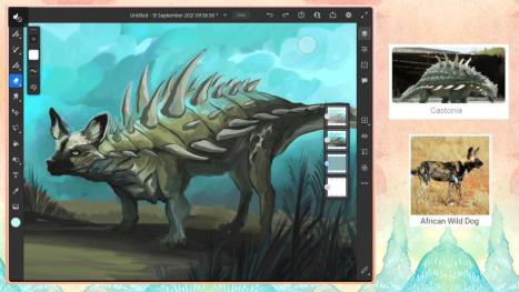 ~ Wednesday morning animal/dinosaur fusion ~