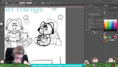 Let's Make Comics! Bookish Things Pt 3