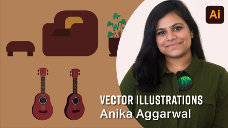 Exploration in Adobe Illustrator with Anika Aggarwal