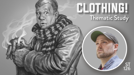 Clothing! Painting with Wade Acuff