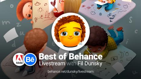 ⭐️ Best of Behance: Creative Q&A ⭐️ with Fil Dunsky!