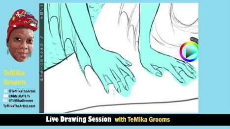 Mermaid Drawing in Sketchable App