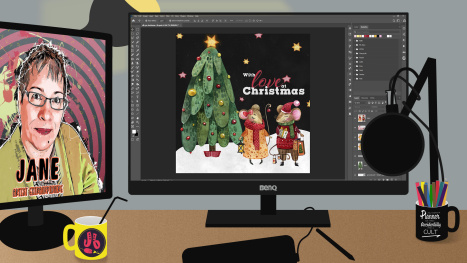 A Christmas Animation in Photoshop - Part 5