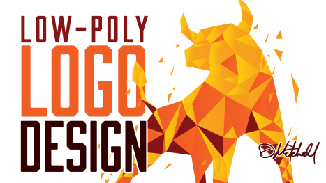 Low Poly Geometric Logo Design in Illustrator