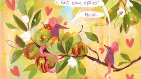 Painting Mice - silent stream - with Anna Daviscourt