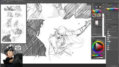 more comics drawing