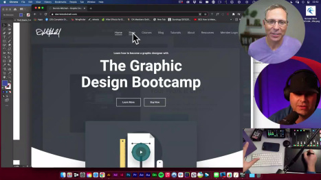 Logo Design in Illustrator with Derrick Mitchell