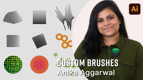 Creating Vector Brushes with Anika Aggarwal