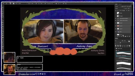 Halloween-ing the Stream with Anna Daviscourt and Anthony Simms