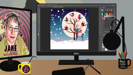 A Christmas Animation in Photoshop - Part 2