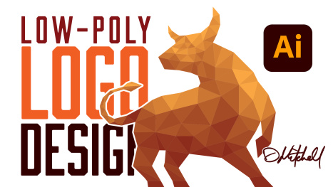 Low Poly Geometric Logo Design in Illustrator: Part 2
