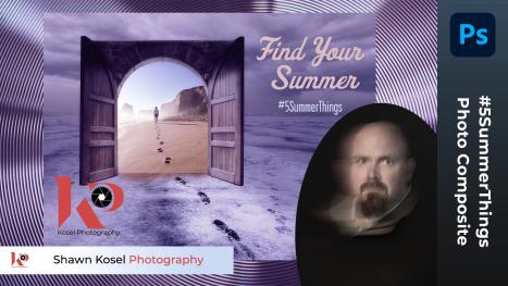Photo Composite in Photoshop