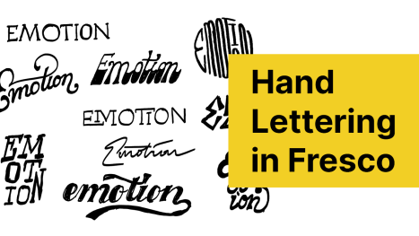 Lettering with Tharique Azeez from Fresco