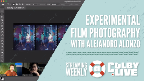 Colby.LIVE | Experimental Film Photography with Alejandro Alonzo