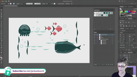 Illustrator to SVG Animation Using CSS Introduction | Subscriber Assets