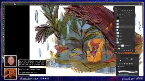 Rainy Day Illustration with Anna Daviscourt and Anthony Simms