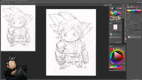 Goku Stubbie cleanup and flatting!