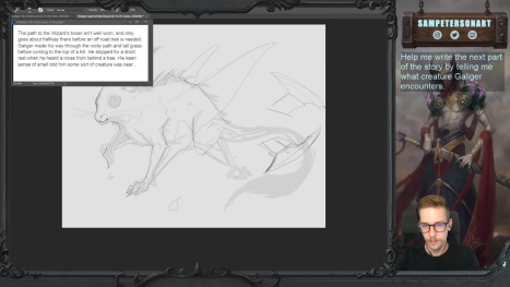 Storytelling Adventure Part 2: Help me Design a Creature!