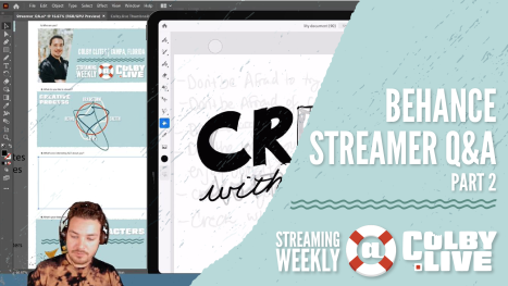 Colby.LIVE | Behance Streamer Q&A - Part 2
