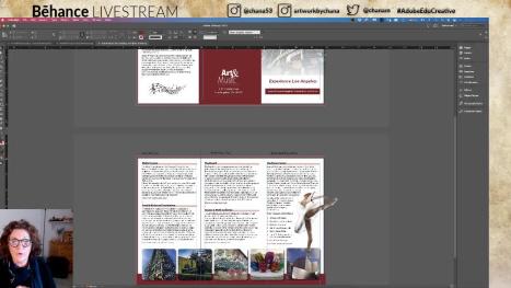 Creating a 3 fold Brochure. Pat III
