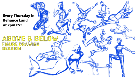 Figure Drawing Session with TeMika Grooms, DaCreativeGenius and OdariArts