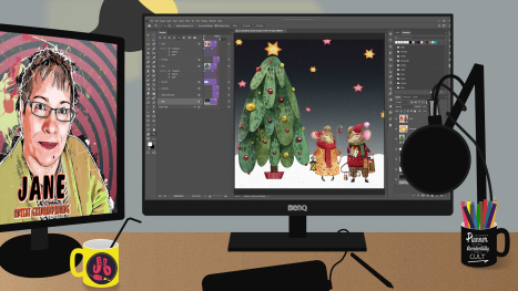 A Christmas Animation in Photoshop - Part 4