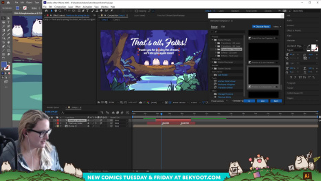 Let's ANIMATE! (LVL: NOOB) Making a Landscape move in After Effects!