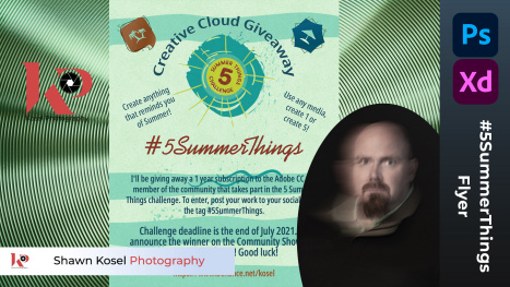5 Summer Things Flyer