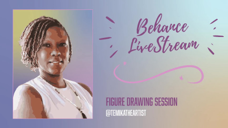 Figure Drawing Session with Guests TeMika Grooms, Dan Flores & Odari Yohannes
