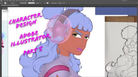 Adobe Illustrator: Character Design! PART 5