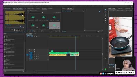 Edit Video Masak-Masak (Cooking Video) for IGTV