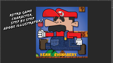 Super Mario: From Sketch to Vector Graphic