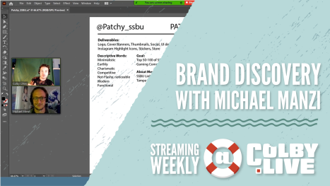 Colby.LIVE | Brand Discovery Process with Michael Manzi