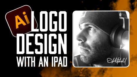 Logo Design with Adobe Illustrator on an iPad