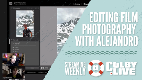 Colby.LIVE | Editing Film Photography with Alejandro
