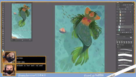 Mermay Designs with Anna Daviscourt and Anthony Simms