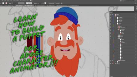 Surprise Bonus Stream: Character Animator Puppet Creation