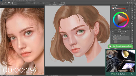 Portrait Study in Photoshop