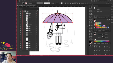 Sketch To Vector In An Hour - A Lunchtime Stream
