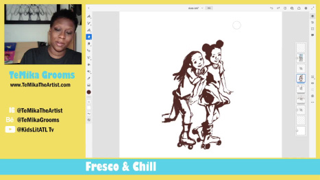 Children's Illustration - The Skater