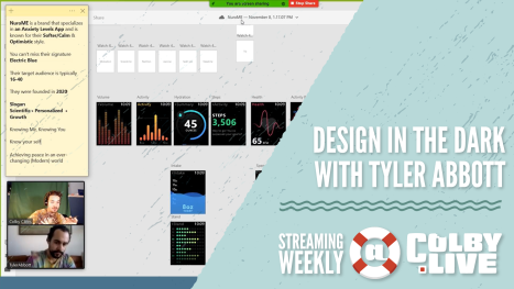 Colby.LIVE | Design In The Dark with Tyler Abbott