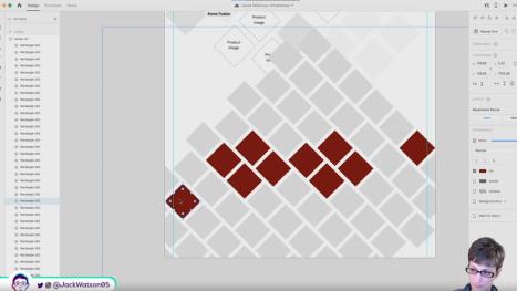 David Wilkinson Website Wireframes in Adobe XD